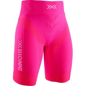 X-Bionic Effektor G2 Spodenki do biegania Kobiety, neon flamingo/arctic white